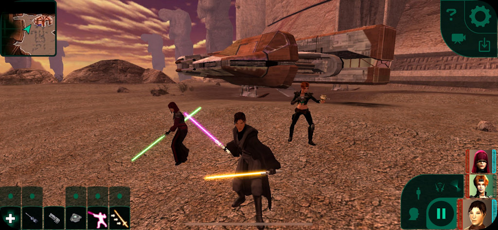Star Wars: KOTOR II (Star Wars Knights of the Old Republic 2) Android