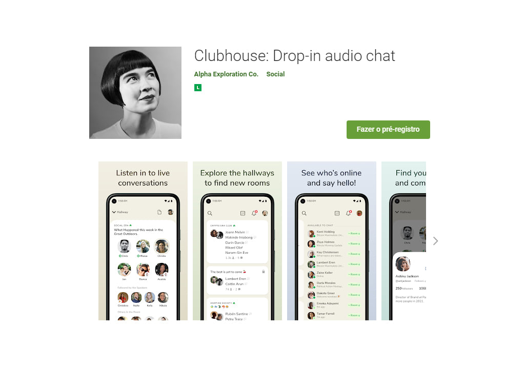ClubHouse versão Android